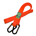 Hunter Orange for extra visibility. Makes a great emergency leash too!