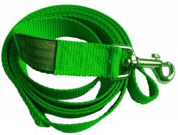 The Sportso Doggo Leash in Lime Green
