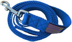 The Sportso Doggo Leash in Sapphire Blue