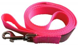 The Sportso Doggo Leash in Bright Pink