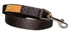 The Sportso Doggo Leash in Chocolate Silk